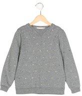 Stella McCartney Girls' Heart-Embellished Long Sleeve Sweatshirt