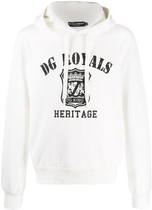 Dolce & Gabbana Royals print hoodie