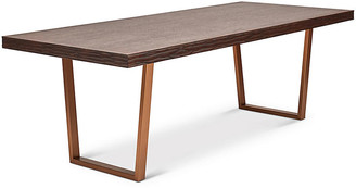 One Kings Lane Rodrigo Dining Table - Cocoa