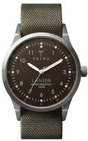Triwa Men's 'Lansen' Leather Strap Watch, 38Mm