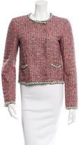 Dolce & Gabbana Tweed Collarless Jacket