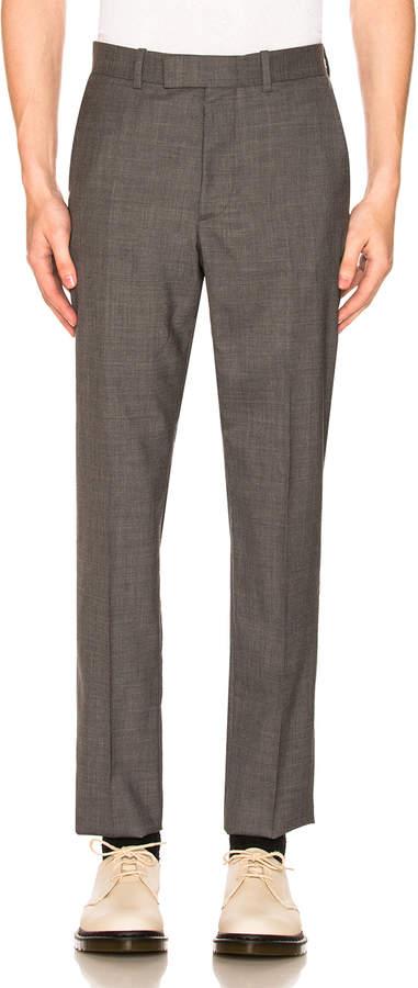 Maison Margiela Two Ply Wool Poplin Trouser