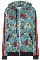 Gucci Jacquard wool-blend hoodie