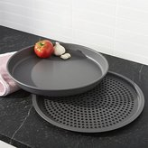 Crate & Barrel Deep Dish Pizza Pan and Crisper Set