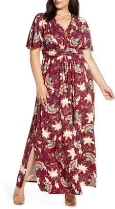 Kiyonna Vienna Maxi Dress
