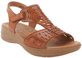 Bare Traps BareTraps Perforated Leather Adj. Strap Sandals - Jordy