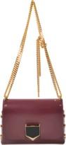 Jimmy Choo Lockett Petite bag in spazzolato leather