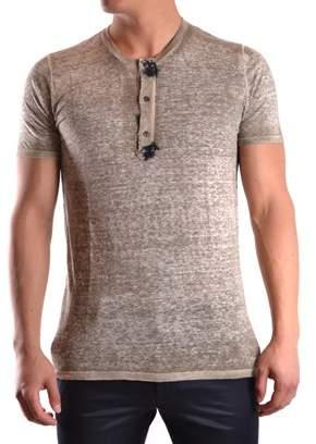 Avant Toi Men's Beige Linen T-shirt.