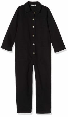 Name It Girl's Nkfatove TWI 7302 L/s Longsuit Overalls