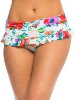 Bleu Rod Beattie Fresh Start Ruffle Skirted Hipster Bikini Bottom 8140027