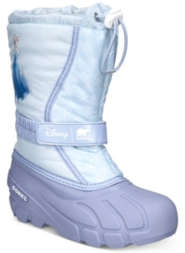 Sorel Disney x Little Girls Flurry Frozen 2 Boots Women's Shoes