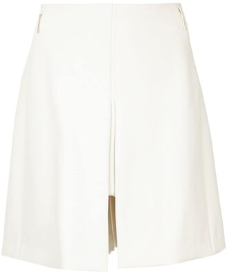 DELPOZO high-waisted A-line skirt