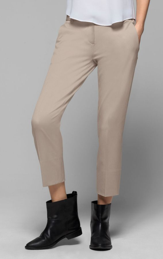 Theory Testra Pant in Bistretch Cotton Blend