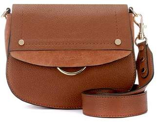 Mint Velvet Blair Tan Leather Saddle Bag