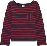 Petit Bateau Striped cotton top