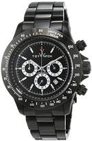 Toy Watch ToyWatch Unisex Quartz Watch with Black Dial Analogue Display and Black Metal Strap 0.94.0006
