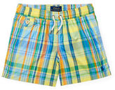 Ralph Lauren Childrenswear Traveler Plaid Boardshorts