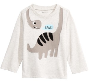 First Impressions Toddler Boys Dinosaur-Print T-Shirt, Created For Macy's