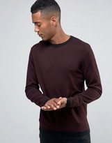 Jack and Jones Knitted Crew in Mixed Yarn