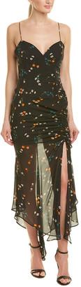 Nicholas Daisy Silk Maxi Dress