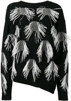 Christian Wijnants sweater with appliqué - women - Cotton/Viscose - M