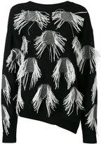 Christian Wijnants sweater with appliqué - women - Cotton/Viscose - XS