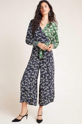Kachel Haven Floral Wide-Leg Pants