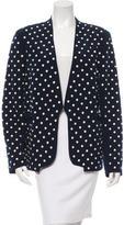 Diane von Furstenberg Embellished Open Front Jacket