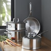 Crate & Barrel ZWILLING ® Demeyere Atlantis Proline Stainless Steel 6-Piece Cookware Set
