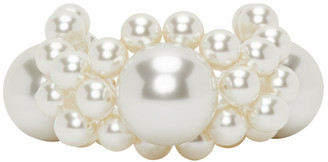 Simone Rocha Off-White Large Daisy Bracelet