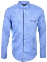 BOSS ORANGE HUGO CieloebuE 1 Shirt Blue