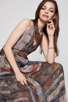 BCBGeneration Pebble Stripe-Print Maxi Dress