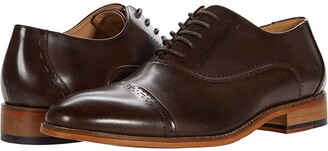 Kenneth Cole Reaction Blake Lace-Up Brg Ct (Dark Brown) Men's Shoes