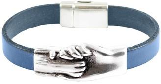 Hand & Paw Project Flat Leather Cat Bracelet