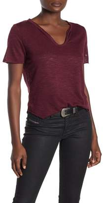 PST by Project Social T Textured V-Neck T-Shirt