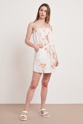 Velvet by Graham & Spencer Reta Cotton Gauze Strapless Dress
