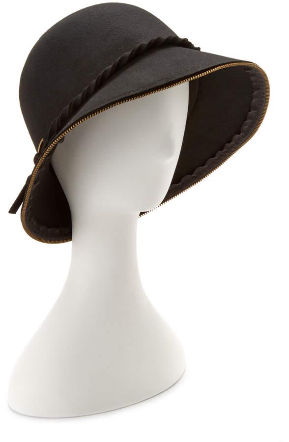 San Diego Hat Company San Diego Hat Co. Women's Wool Black Bucket Hat