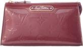 Louis Vuitton Purple Vernis Leather Cosmetic Case