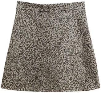 Goodnight Macaroon 'Indiana' Leopard Print Mini Skirt (3 Colors)