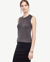 Ann Taylor Cashmere Cropped Shell