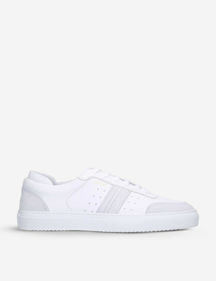 Axel Arigato Dunk leather and suede trainers