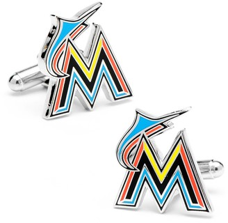 Cufflinks Inc. Miami Marlins Cuff Links