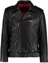 Oakwood MARLON Leather jacket black