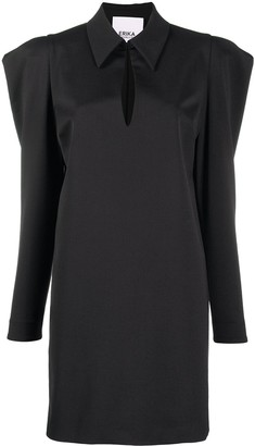 Erika Cavallini Statement Shoulder Dress