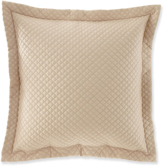 Ralph Lauren Home Quilted Sateen Argyle European Sham