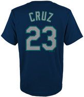 Majestic Kids' Nelson Cruz Seattle Mariners Player T-Shirt