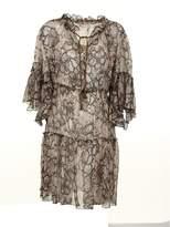 See by Chloe Snake-skin Effect Dress