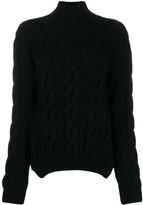 Simone Rocha cable knit sweater