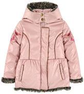 Catimini Faux fur-lined padded coat