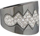 Eddie Borgo Crystal Bear Trap Ring